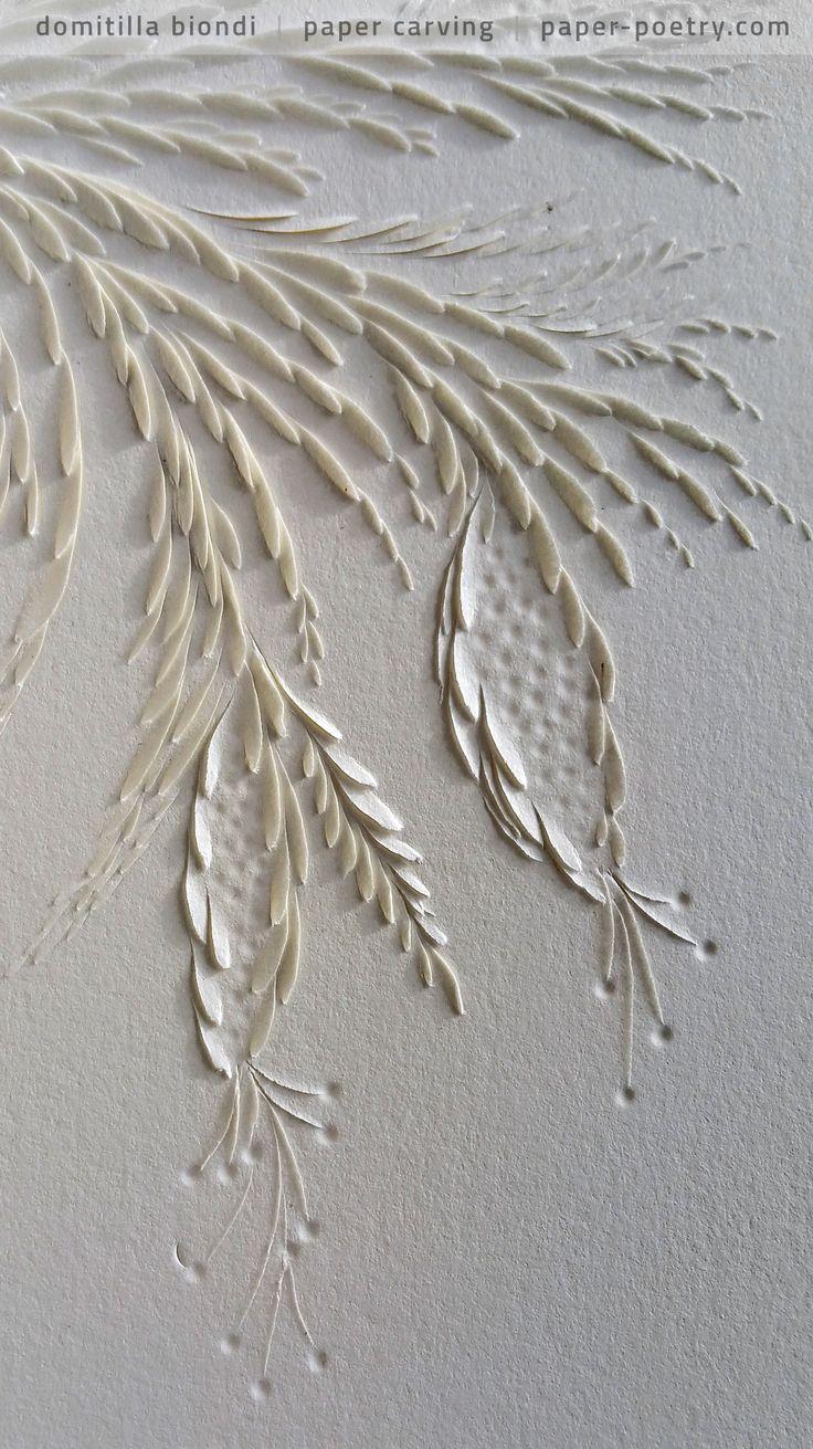 «Quasimodo Remixed» Series - #18 detail   domitilla biondi paper carving