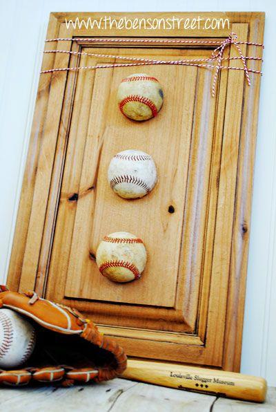 Baseball Wall Decor
