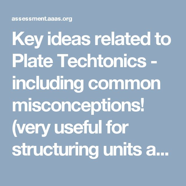 13 best earthquakes images on pinterest science ideas earth key ideas related to plate techtonics including common misconceptions very useful for structuring fandeluxe Choice Image
