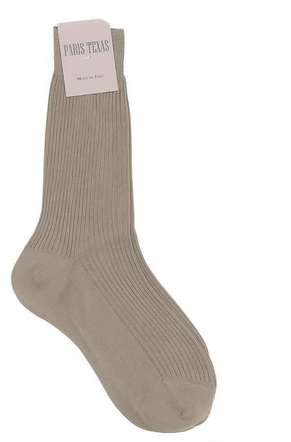 Brown Silk Socks