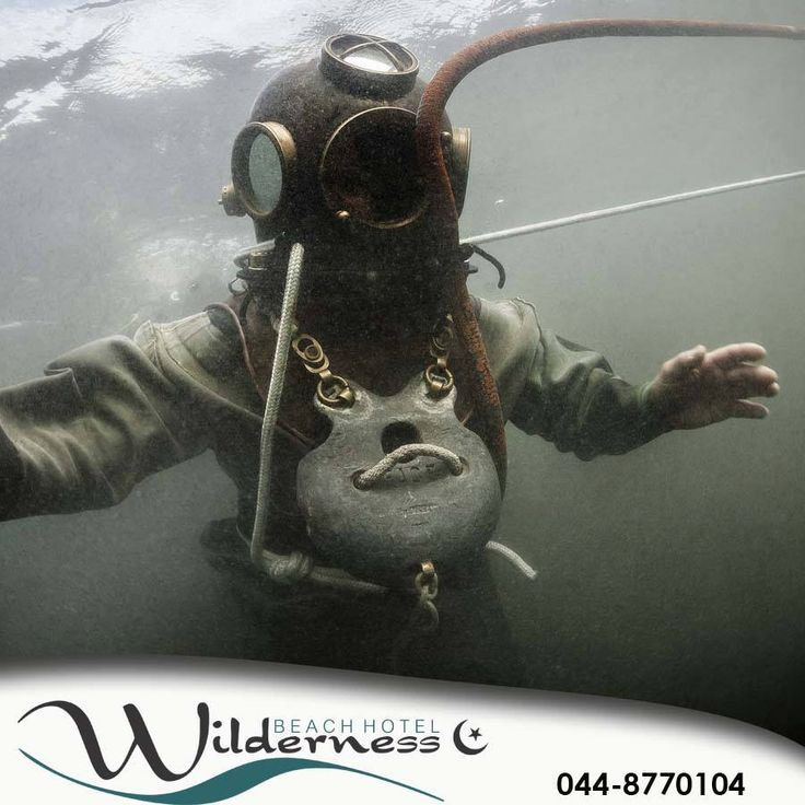 Do you think you would find it pleasant and relaxing to swim in this antique diving gear? #throwbackthursday #tbt #lifestyle