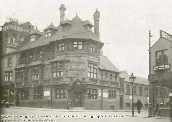 Rose of England public house, Mansfield Road, Nottingham, 1926