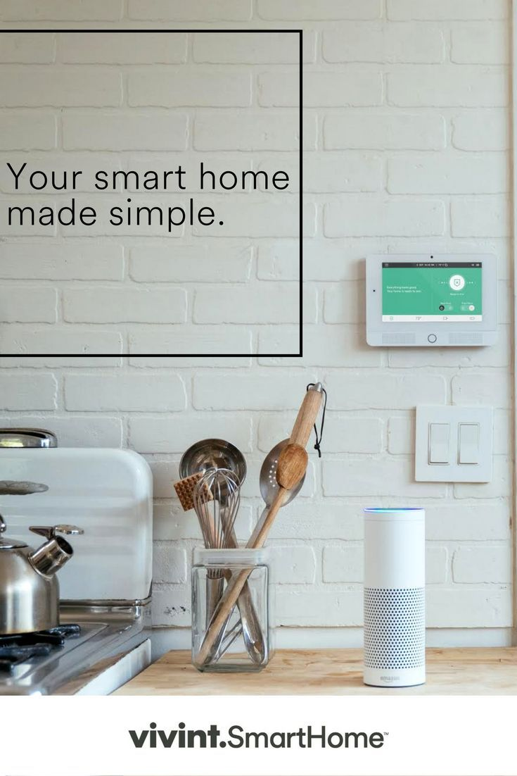 The Total Home Package From Vivintbines Smart Home Technology, Home  Security, And Cloud