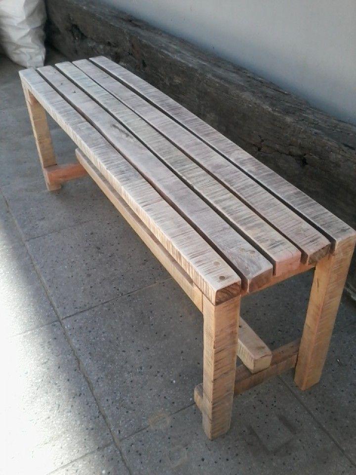 M s de 25 ideas incre bles sobre bancos de madera en for Cosas con madera reciclada