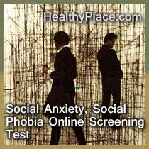Take social anxiety test to help determine if you have symptoms of social anxiety and need treatment. Online social phobia test instantly scored, free.