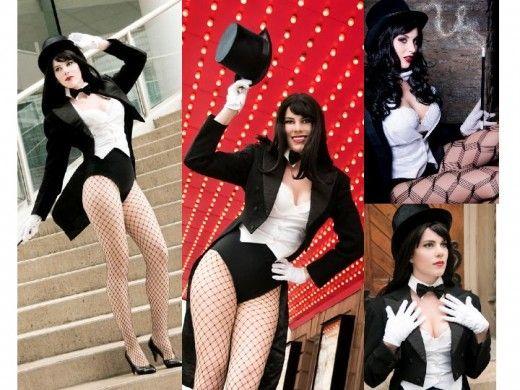 Classic Zatanna Cosplay Costume