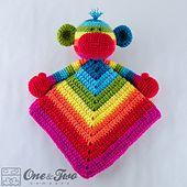 Ravelry: Rainbow Sock Monkey Lovey pattern by Carolina Guzman