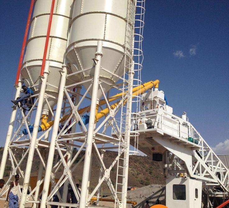 precast concrete batching plant
