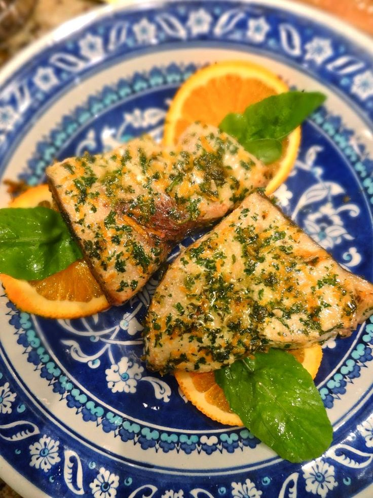 Scrumpdillyicious: Swordfish with Citrus & Cilantro Marinade
