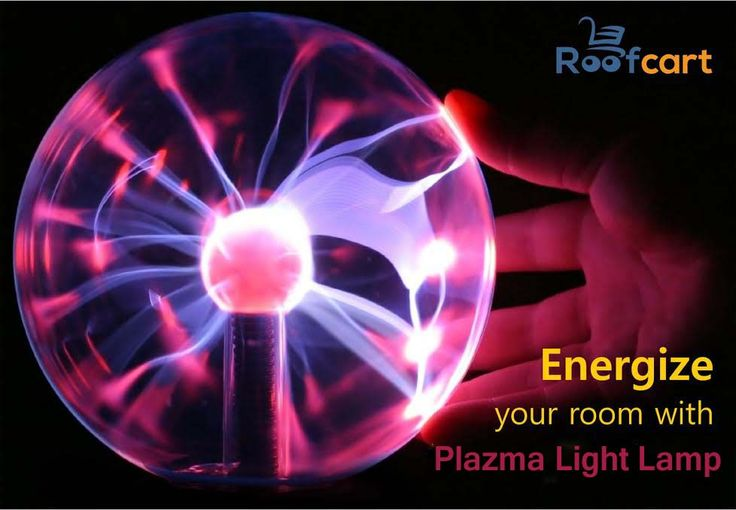 Plasma Lamp - Lightning at your Fingertips! The light will move with your finger on the globe. The coolest decoration for any room!  This and many more amazing deals Only at #roofcart