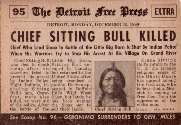Native History: Sitting Bull Shot By Indian Police, His Legacy Remain
