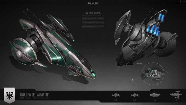 concept ships: Concept spaceship art by Samuel Aaron Whitehead