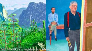 iPad Paintings By David Hockney Featured At SF's deYoung Museum « CBS San Francisco