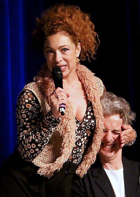 Alex Kingston & Peter Capaldi