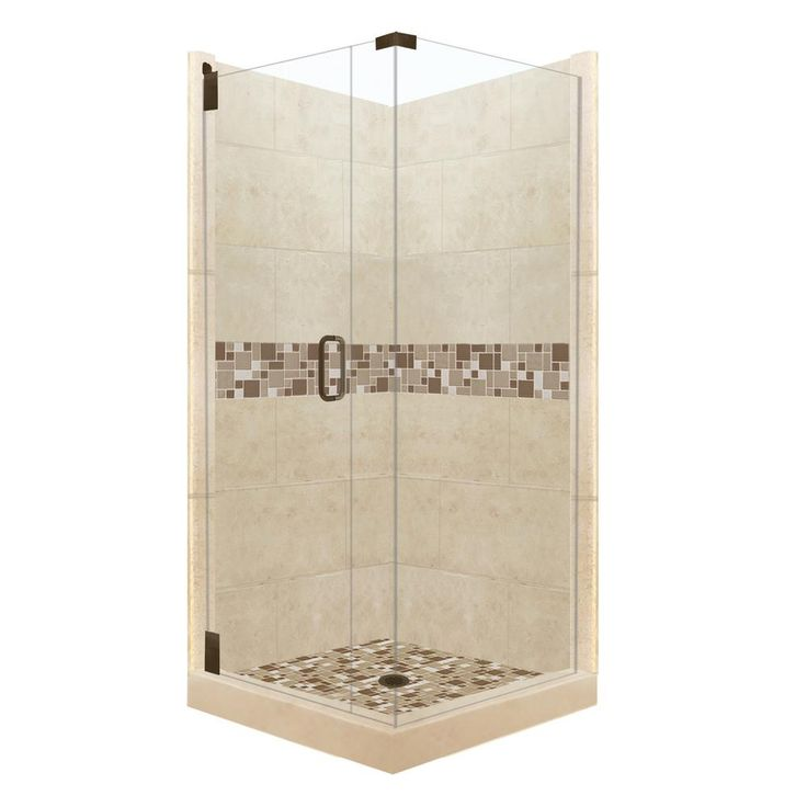 corner shower kits 36 x 36. American Bath Factory Tuscany Grand Hinged 36 in  x 80 Best 25 Corner shower kits ideas on Pinterest showers