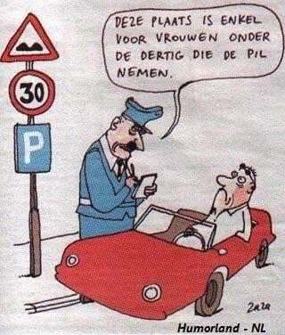 Parkeerplaats voor vrouwen?
