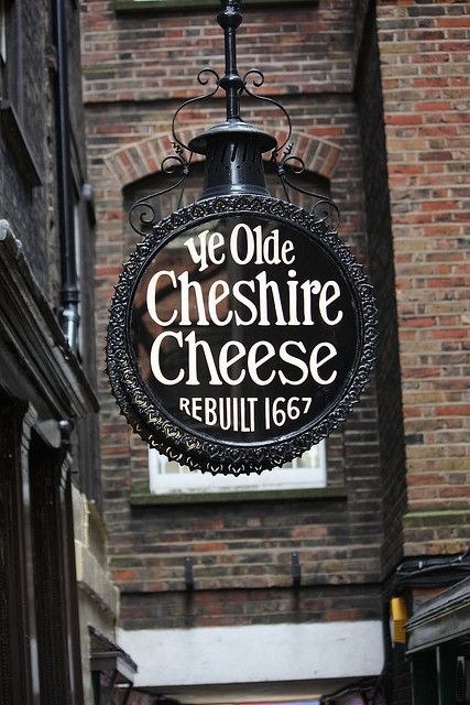 Ye Old Cheshire Cheese (Most Iconic Pub): There has been a pub on this site since the sixteenth centur and the current version has been on the site since the great fire of 1666. Figures such as Charles Dickens, Mark Twain and Arthur Conan Doyle are all said to have been regulars.