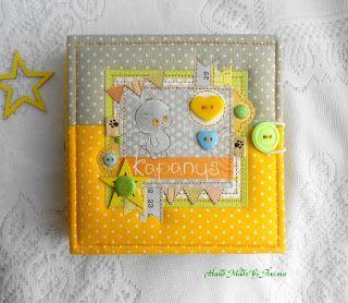 Мои рукотворности: Солнечный детский альбомчик