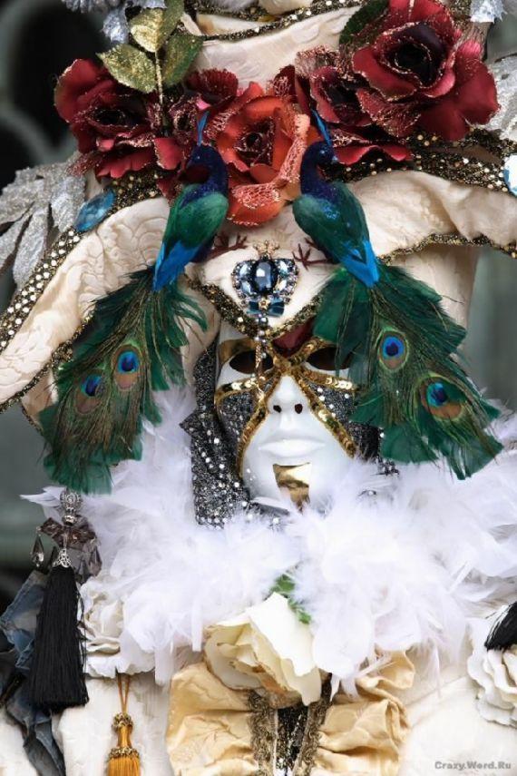 As belas e misteriosas máscaras do carnaval de Veneza                                                                                                                                                                                 Mais