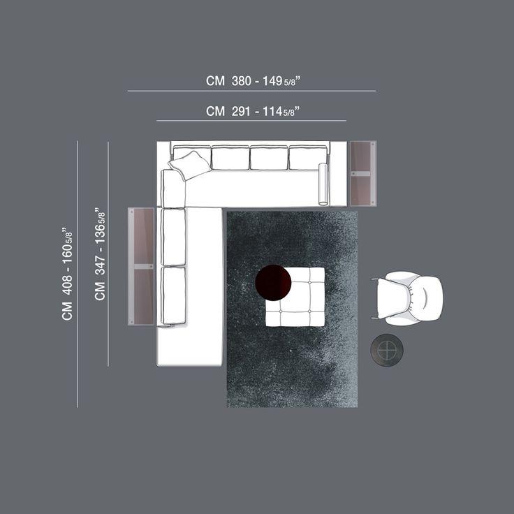 Minotti Ipad - W.01 - COMPOSITIONS - WILLIAMS - SOFAS EN