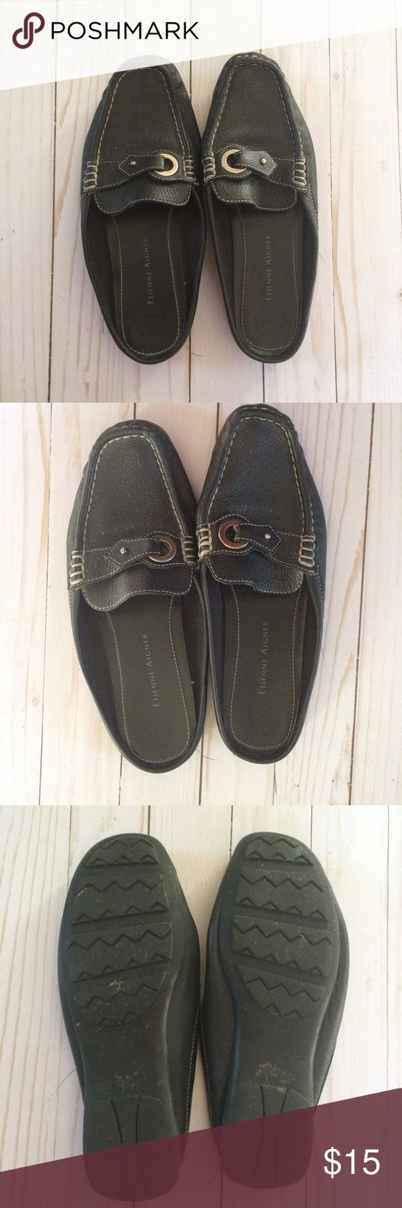 Etienne Aigner Whisper Slip On Shoes Size 7.5 Previously used but in good condition. Show signs of wear Etienne Aigner Shoes