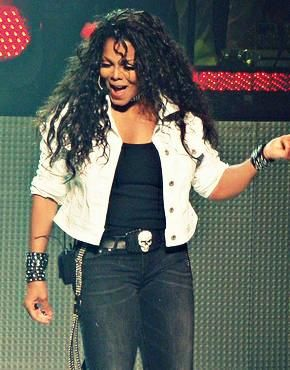 Janet Jackson in Concert.