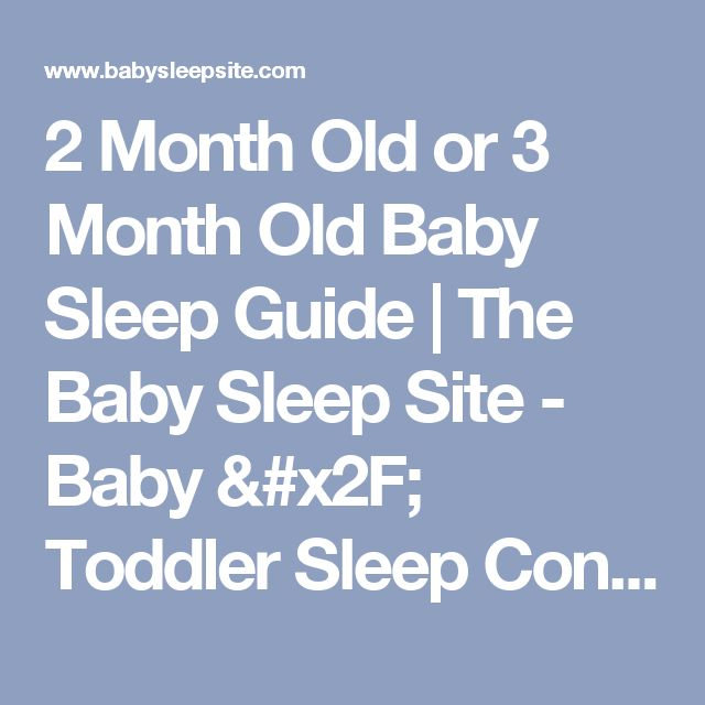how to sleep train 2 month old