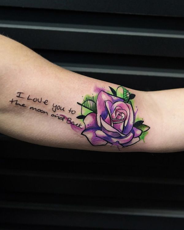 301 best cute tattoos images on pinterest tattoo ideas for Meaningful thigh tattoos