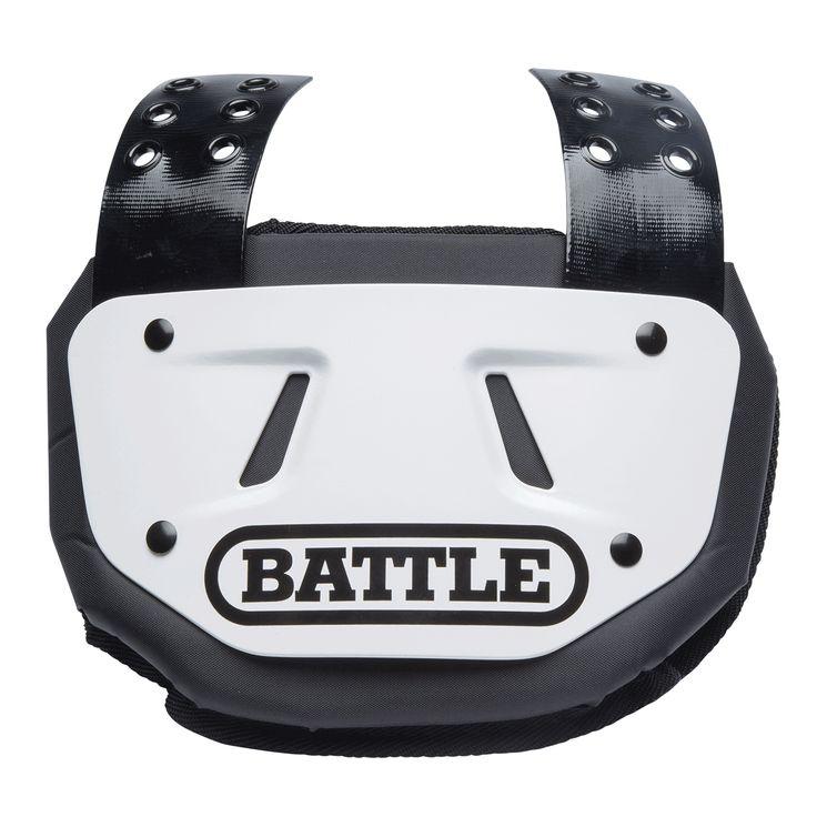 Battle Adult Football Back Plate