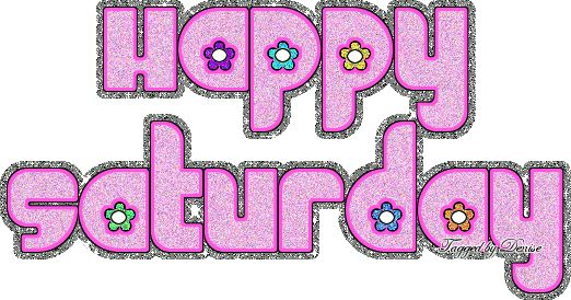 Happy Saturday pink days days of the week saturday weekdays saturday greeting beautiful saturday saturday gif