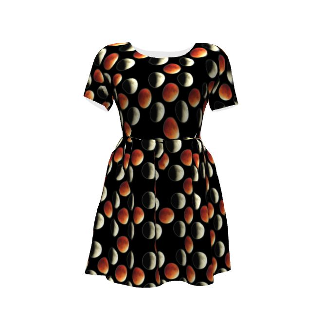 Zeena Dress by By Hand London using my Blood Moon Eclipse pattern now available on Sprout!