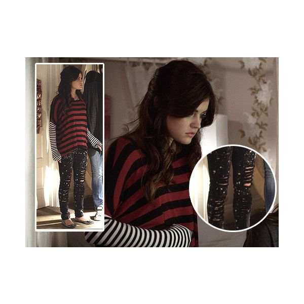 Aria Montgomery Style Aria Montgomery ❤ liked on Polyvore