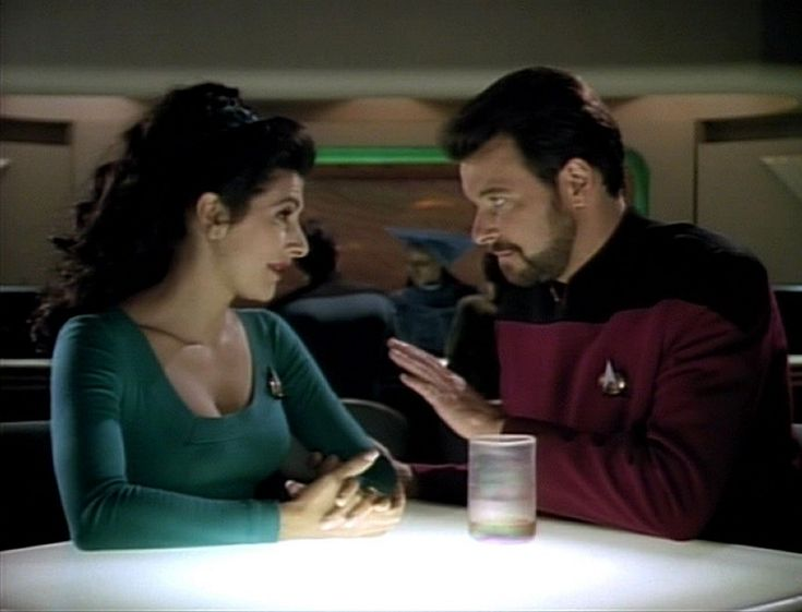 Greatest Couples in Sci Fi- Counselor Deanna Troi and Commander William Riker- Star Trek: The Next Generation