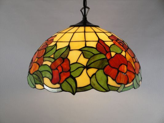 Lmparas 15 pinterest tiffany style stained glass ceining mozeypictures Image collections