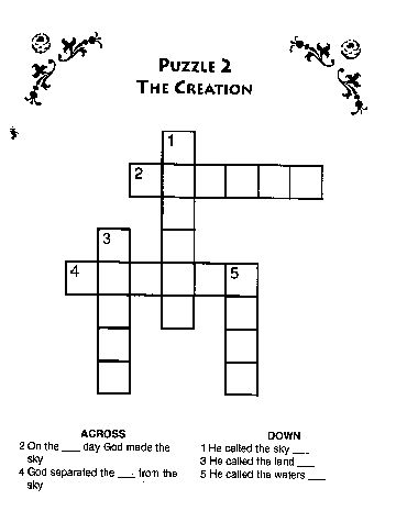 crossword coloring pages - photo#7