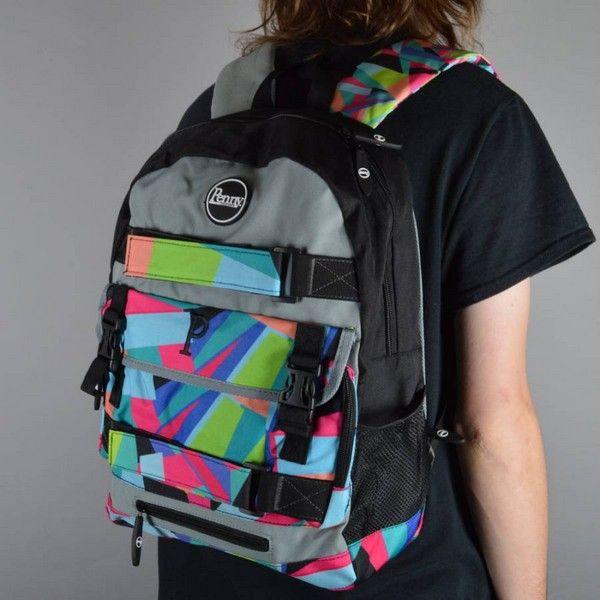 penny pastel slater skateboard backpacks