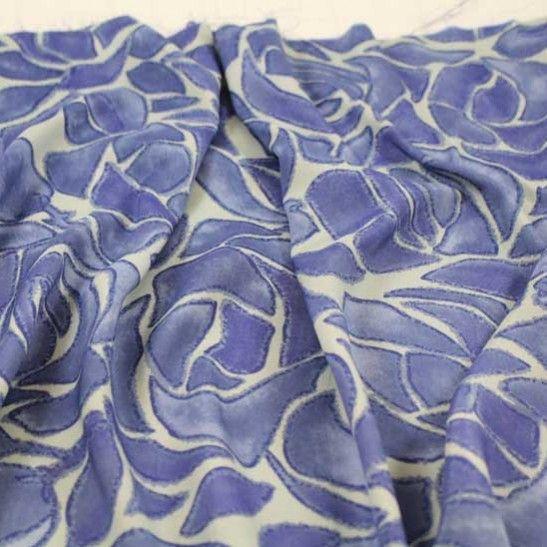 La Rose Bleu Blouse-Weight - Blues/Gray - Gorgeous FabricsGorgeous Fabrics