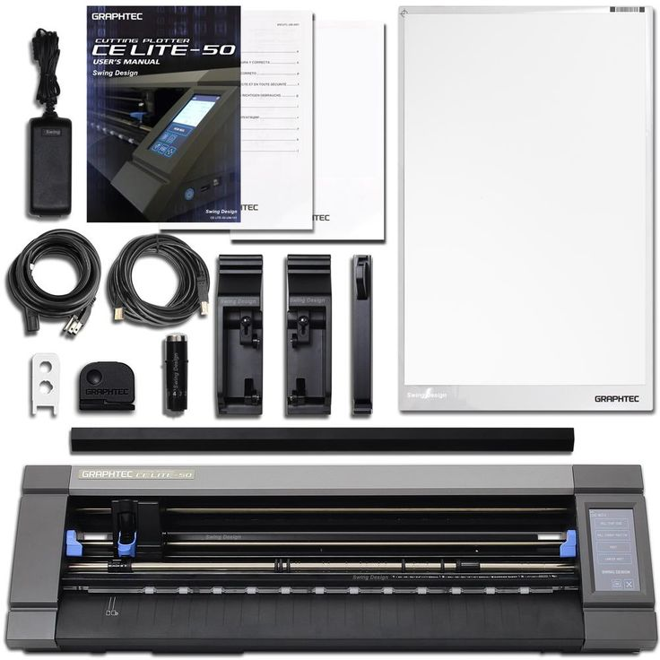 Graphtec CE-50 LITE - 20 Inch Vinyl Cutter & Plotter with $2100 in Software