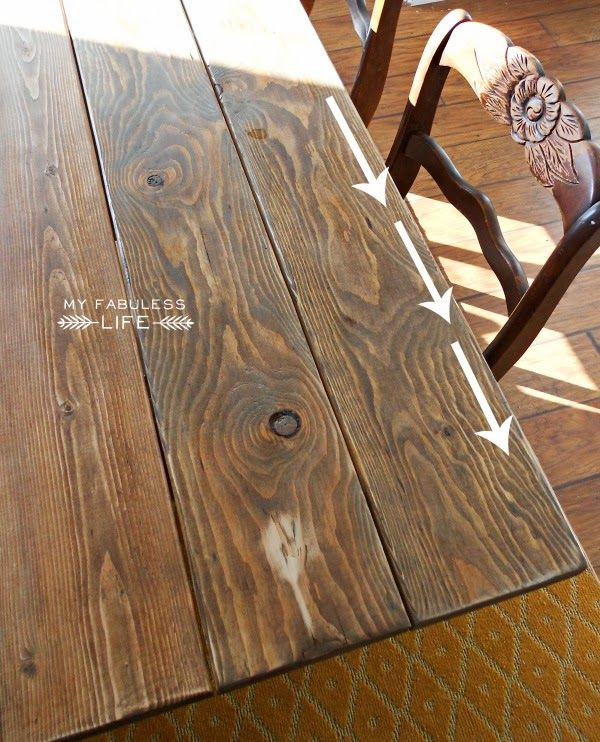 My Fabuless Life: How to Stain Wood