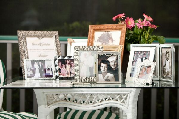 "An Elegant White & Green ""Steel Magnolias"" Like Southern Family Estate Wedding 
