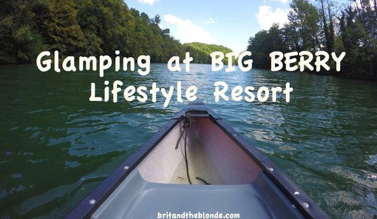 Glamping at Big Berry Lifestyle Resort. More info over at britandtheblonde.com