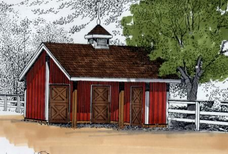 Love the look of this durango with 12 39 x12 39 stalls 10 39 x12 for 2 stall horse barn plans