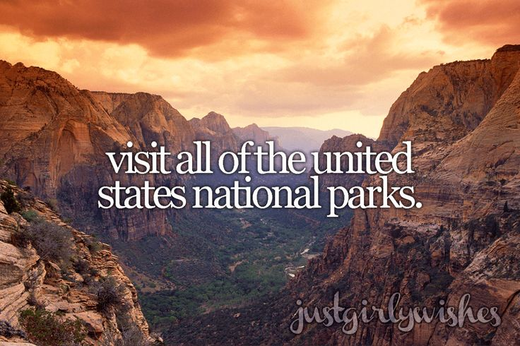 A Bucket List. For me it would to visit every state in the U.S.
