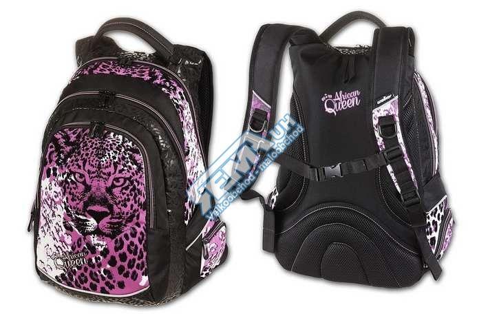 Školní batoh Walker AFRICAN QUEEN (studentský batoh školní WALKER)