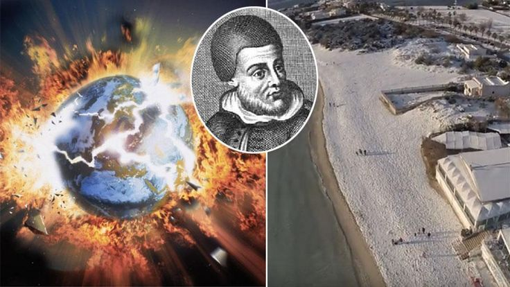 End of the world? Fears Italian Nostradamus prophecy is coming true as snow blankets southern Italy
