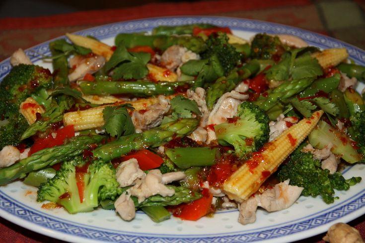 Тайские салаты из моретродуктов