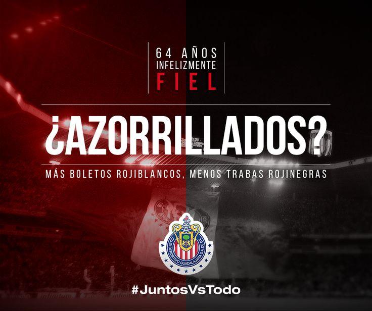 CHIVAS LE RESPONDE A LOS ZORROS Luego de la intensa polémica que se ha vivido en torno a la venta de boletos para el Clásico Tapatío, las Chivas de Guadalajara respondieron a través de sus redes sociales a las provocaciones de su rival en turno.