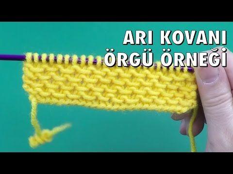 Arı Kovanı - Örgü Örnekleri - YouTube