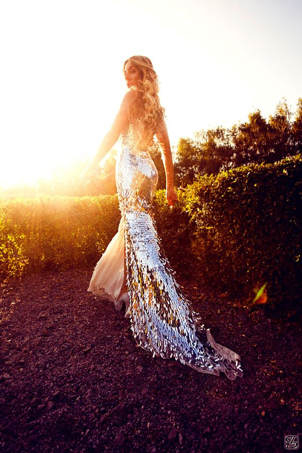 stunning sequin mermaid dress #fashion #style