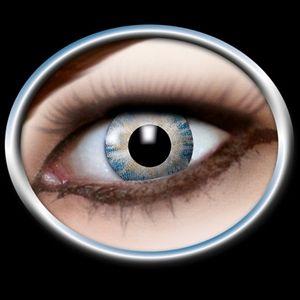 Kontaktlinser Magic blue. Flotte blå kontaktlinser der ser meget naturlige ud. Gør dine øjne mere klare og giver det helt rigtige glimt i øjet. Bruges i dagligdag og til fester. #kontaktlinser #magic #kostume
